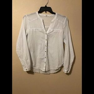 Women's striped shirt size medium